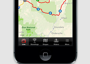 Tour tracker iphone